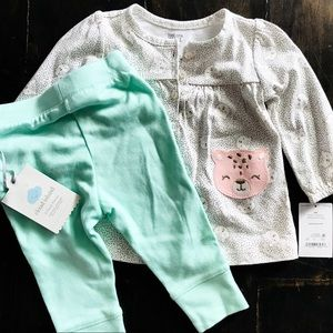 NWT Carter's outfit baby girl 6 mo